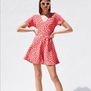 Zara cherry print dress